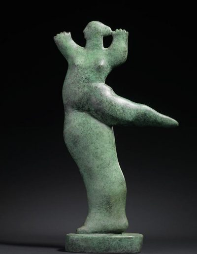 Kobe - Petite Danseuse (Little Dancer) – 1995 – The Phoebus Foundation – Marble (Verde Guatemala) – 56 x 28 x 6 cm – © The Phoebus Foundation