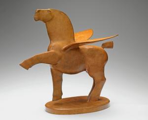 horses bronze