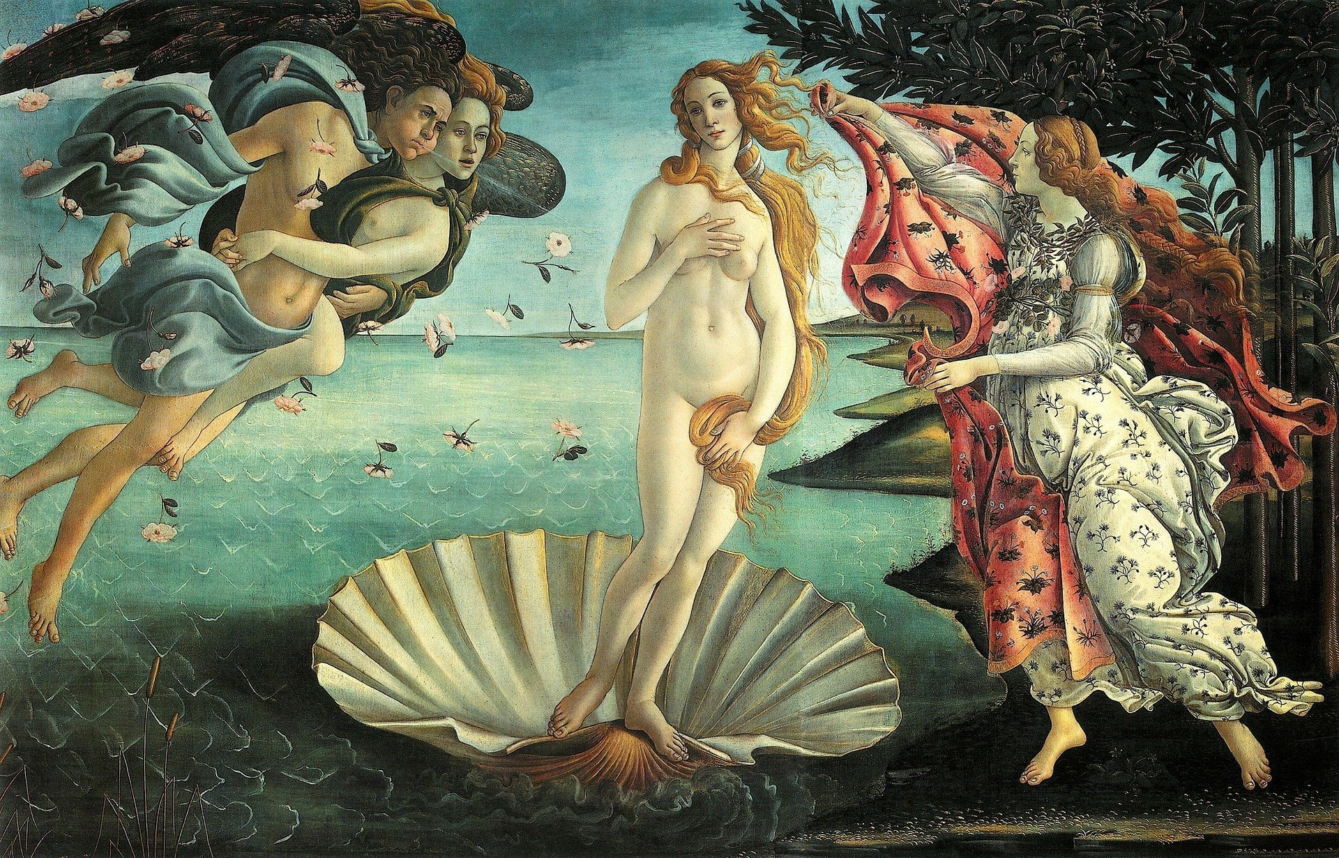 Beauty and the Aesthetics Form : Botticelli