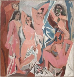 The aesthetic standards in the Twentieth century pICASSO