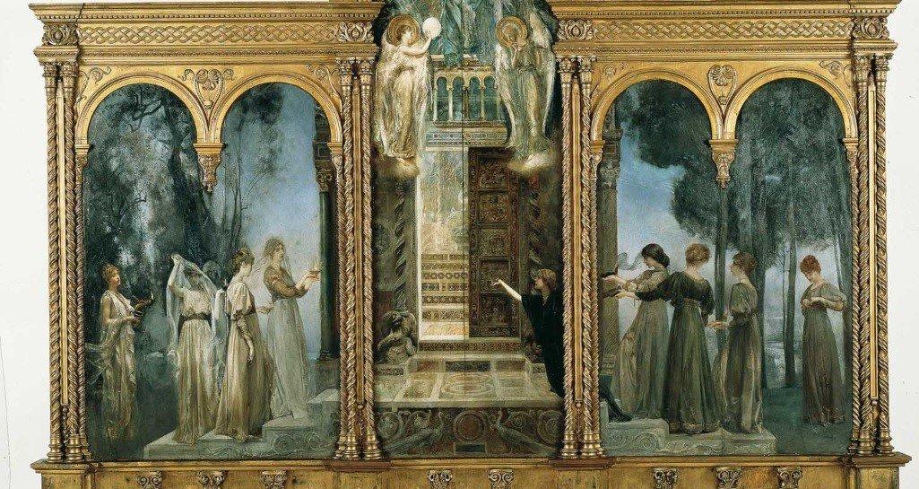 Woman - Giulio Aristide Sartorio Le Vergini Savie e le Vergini Stolte