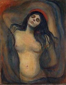 Woman, Madonna, Edvard Munch