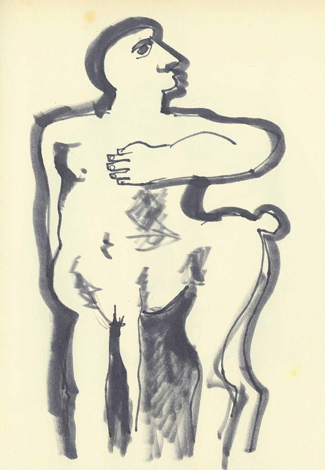 Kobe – Centauro (Centaur) - drawing - 2006 – (© Kobe)