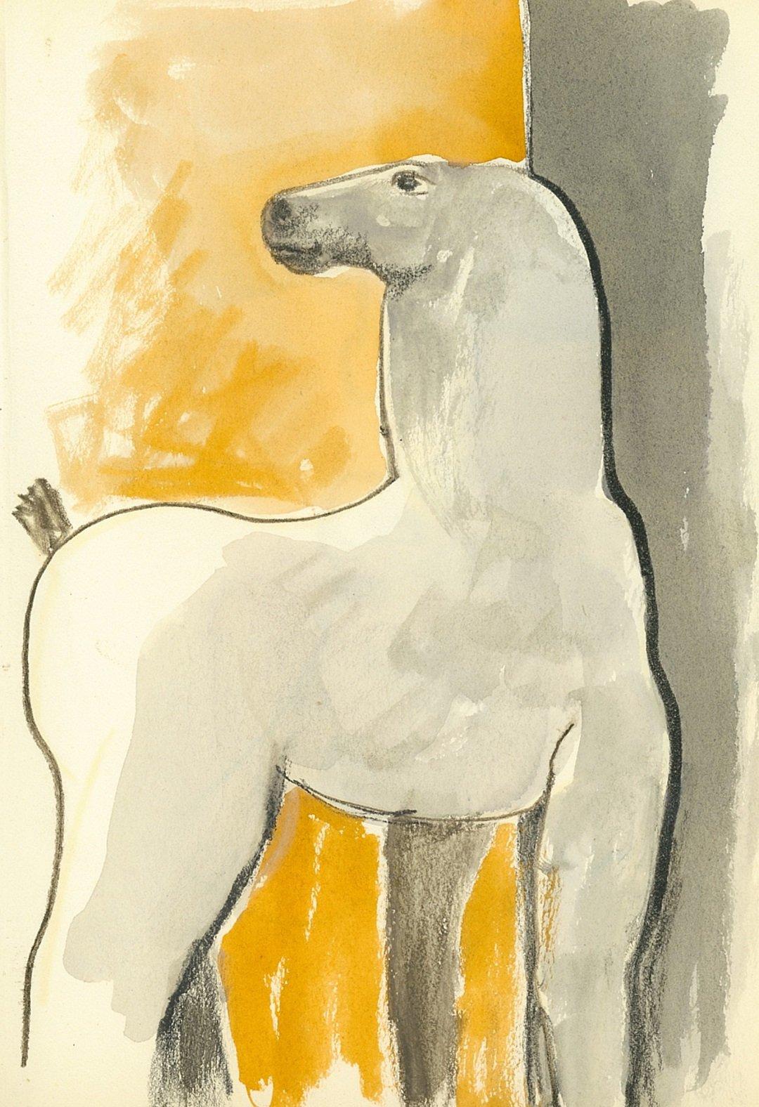 Kobe – Small Horse - drawing - 2002 – (© Kobe)