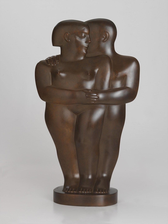Kobe - Koppeltje (Couple) - 2005 - Bronze - 80 x 45 x 20 cm - copyright Fotostudio Frans Lossie, Heusden 3