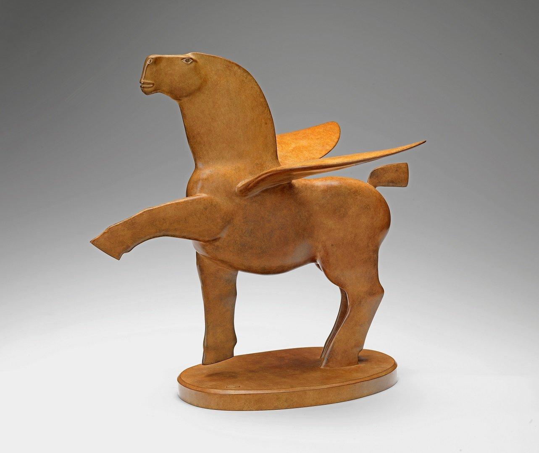 Kobe - Pegasus II - 2004 - Bronze - 47 x 48 x 31 cm - copyright Fotostudio Frans Lossie, Heusden 3